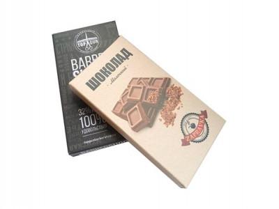 Шоколад 27 г молочный 32% или горький 60%  картонная коробка