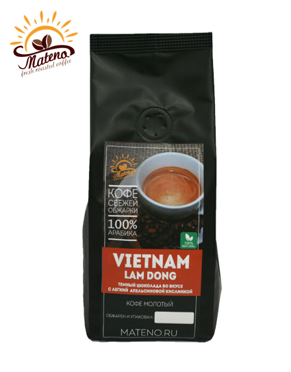 Кофе Вьетнам Ламдонг